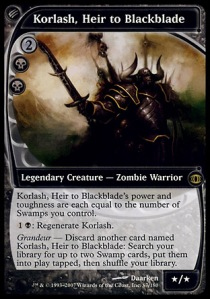 Korlash, heredero de Blackblade