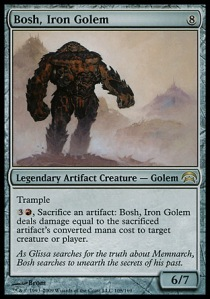 Bosh, gólem de hierro
